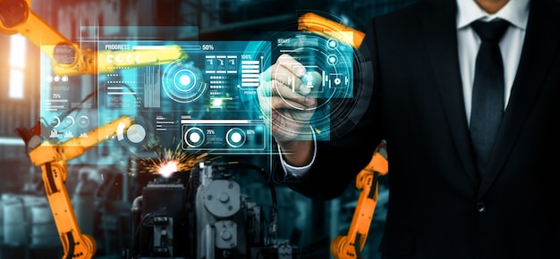 デジタル産業と工場のロボット技術のための高度なロボット アーム システム