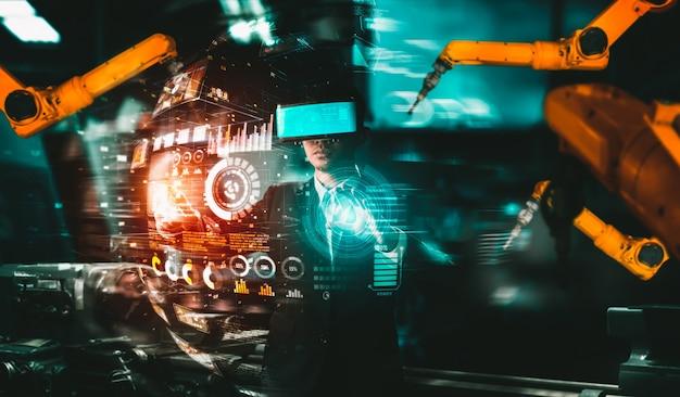 Усовершенствованная система манипуляторов для цифровой промышленности и заводской робототехники