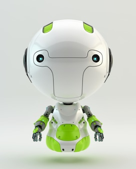Advanced robot character