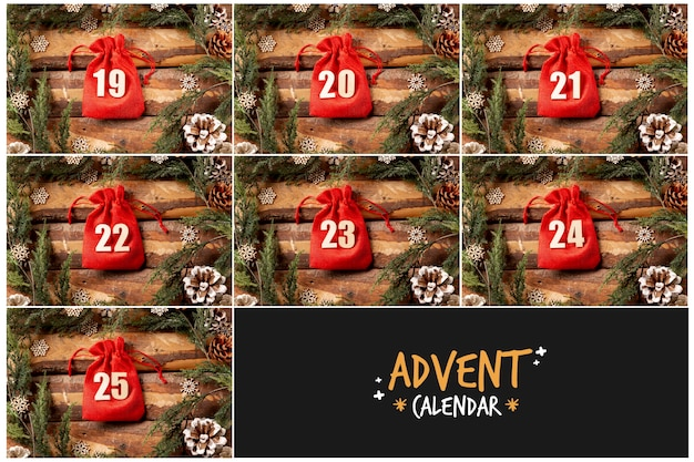 Advent calendar logo and image