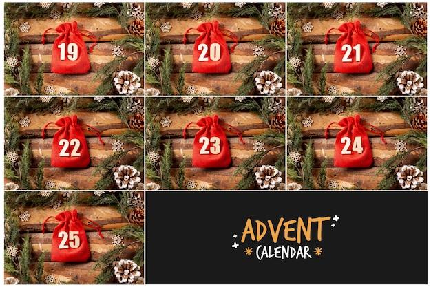Логотип и изображение advent calendar