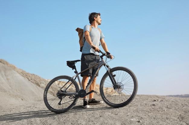Adventure on a bike