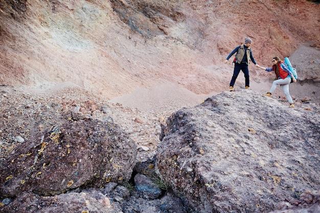 山への冒険