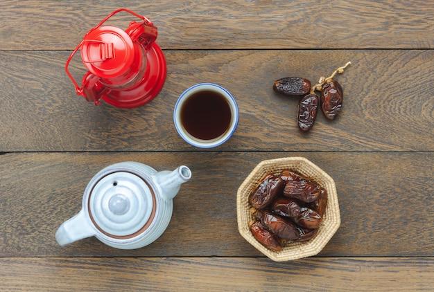 Воздушный образ украшений рамадан карем праздник фон.