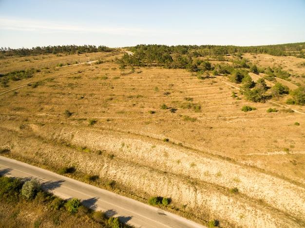 Воздушный пейзаж в крыму Бесплатные Фотографии