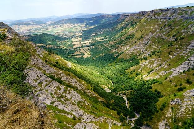 북부 burgos 스페인에서 공중 가로보기입니다. 카스티야 레온.