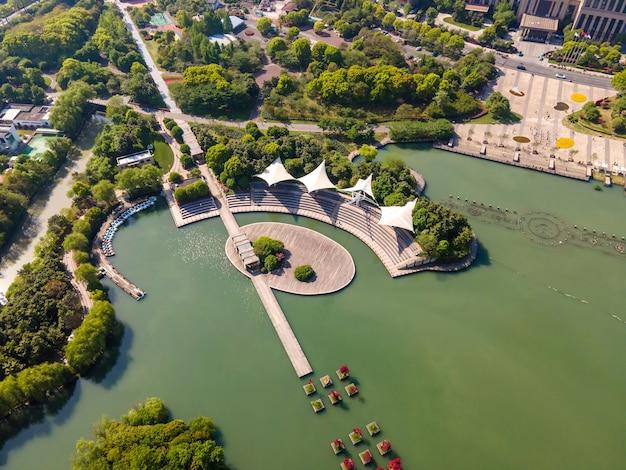 Changzhou xintiandi park의 항공 사진
