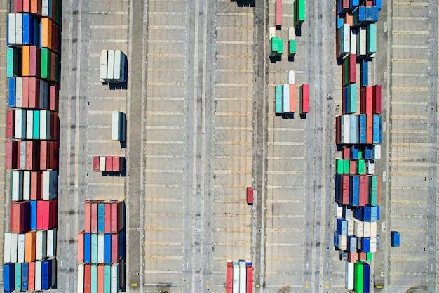Аэрофотосъемка контейнерного терминала