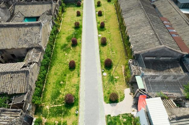 Foto aeree dell'antica città di chaozhou in cina