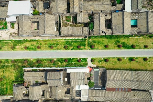 Аэрофотоснимки древнего города чаочжоу в китае
