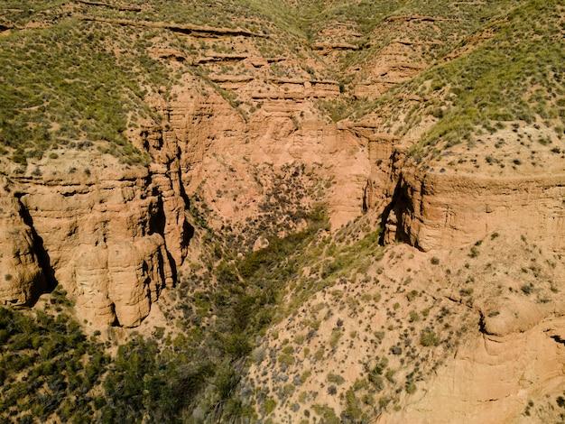 Вид с воздуха на природу