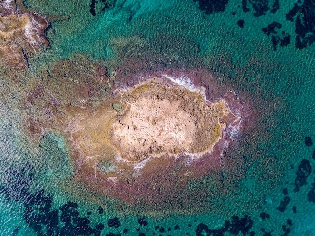 바다의 공중 탄