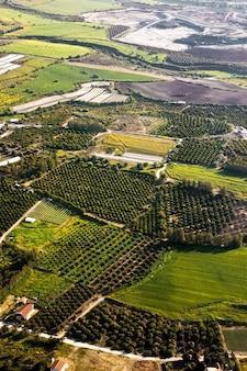 Аэрофотосъемка на сельскохозяйственных полях