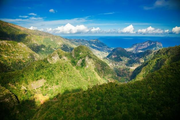 Вид с воздуха с башни левада балкоес