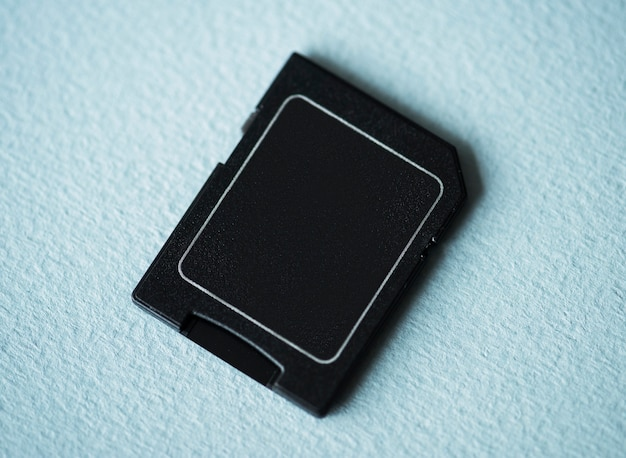 Aerial view of memory card