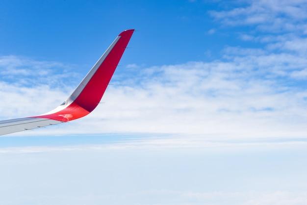 Вид с воздуха на крыле самолета Бесплатные Фотографии
