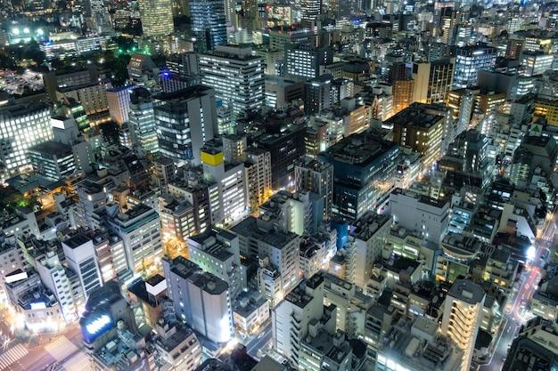 Аэрофотоснимок города в токио