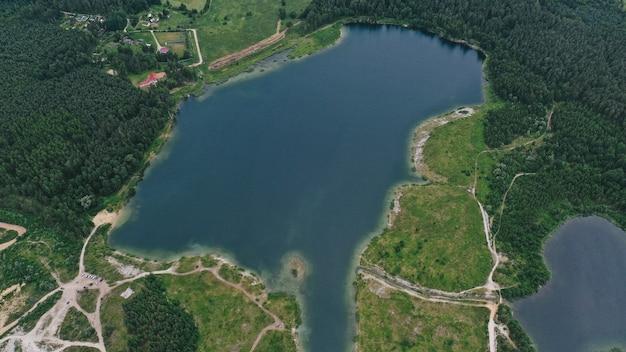 호수의 항공보기
