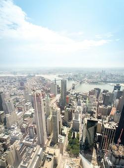 맨해튼의 항공보기