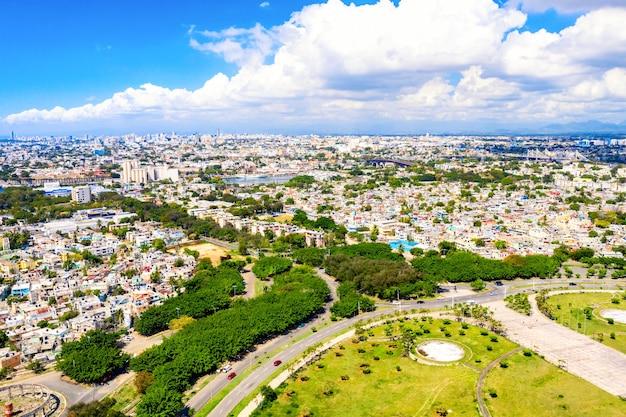 Вид с воздуха на санто-доминго