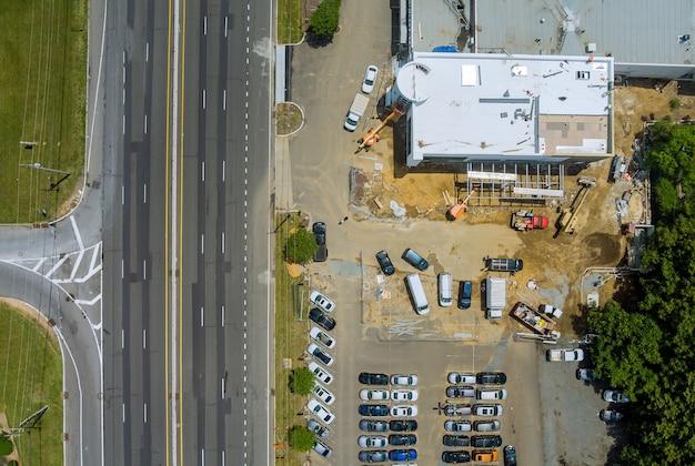 복합 쇼핑몰 재건축 공사 조감도