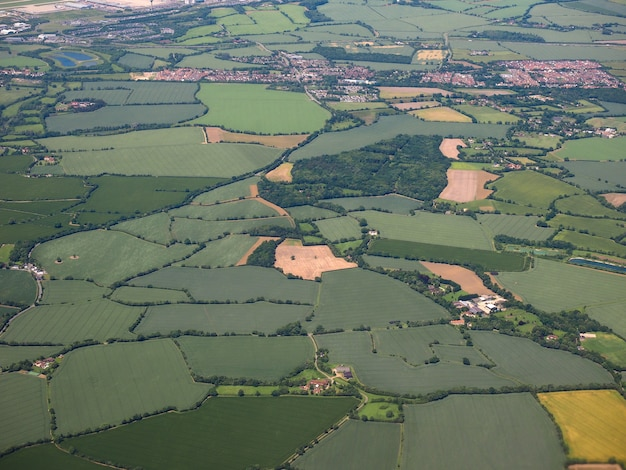 Aerial view of takeley