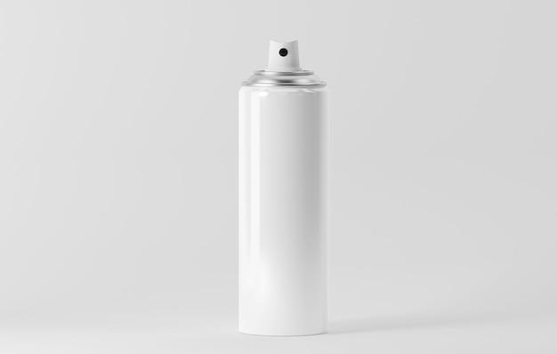 Aerosol bottle isolated on white