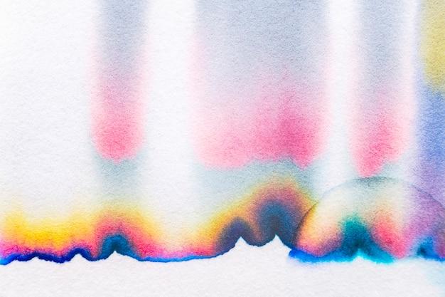 美学抽象色层背景在彩色色调
