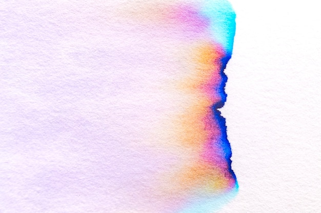 Aesthetic abstract chromatography background in colorful tone