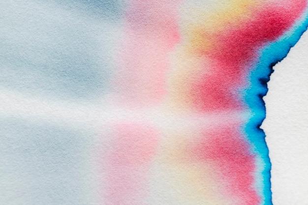 Sfondo cromatografia astratta estetica in tono colorato