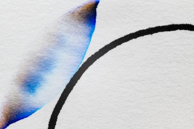 ブルートーンの美的抽象クロマトグラフィーの背景