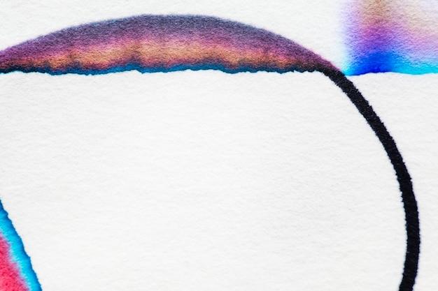 Эстетический абстрактный фон хроматографии в красочных тонах