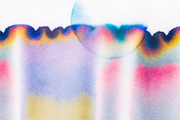 カラフルなトーンの審美的な抽象的なクロマトグラフィーの背景