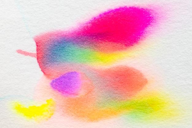 Sfondo cromatografia astratta estetica in tonalità di colore al neon
