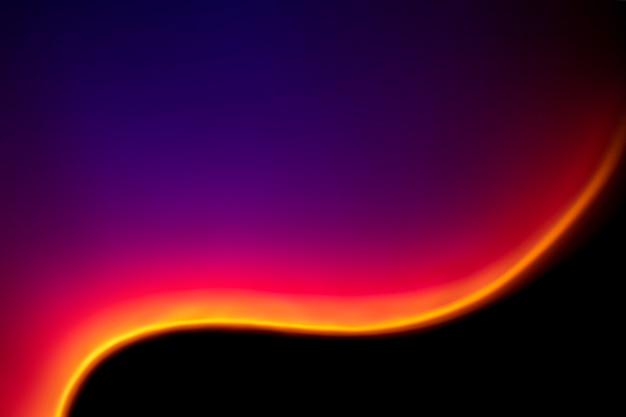 Эстетический фон с градиентным неоновым световым эффектом