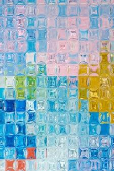 Эстетический фон с текстурой узорчатого стекла