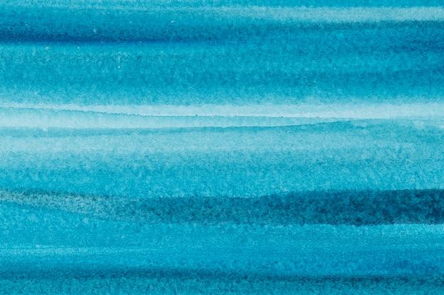 Эстетический синий акварельный фон в абстрактном стиле