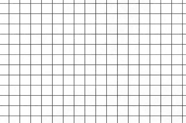 審美的な最小限の白いグリッドパターンの壁紙
