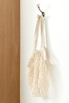 Эстетическая сетчатая сумка-тоут, устойчивая мода