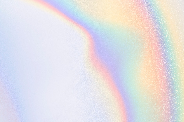 미적 파스텔 홀로그램 빛나는 파란색 배경