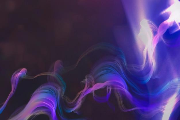Aesthetic purple smoke banner background