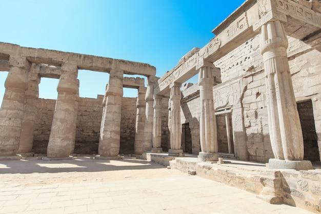 Африка, египет, луксор, карнакский храм