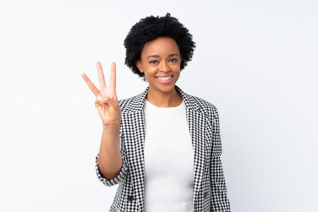 壁を越えてアフリカ系アメリカ人の女性