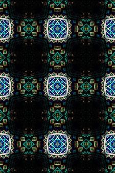 아프리카 미술 그림. 원활한 아즈텍 패턴입니다. 부족 장식 인쇄입니다. 부족 민속 장식.