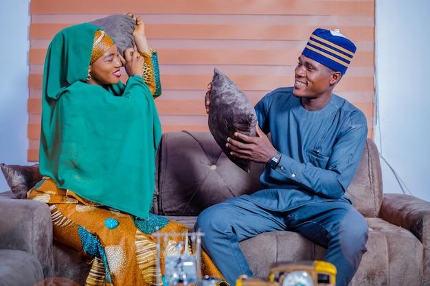アフリカのカップル1