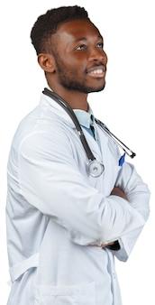African medical doctor man