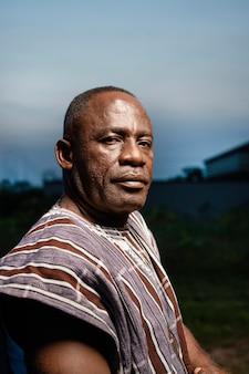 アフリカの年配の男性