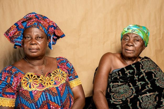 Африканская старшая женщина