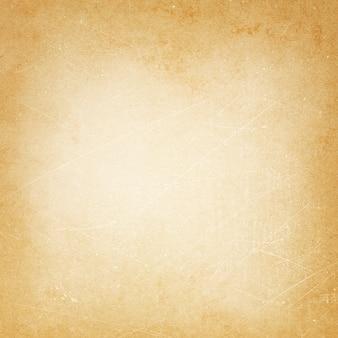 古くなったアンティークの背景、ベージュの古い紙の質感、紙