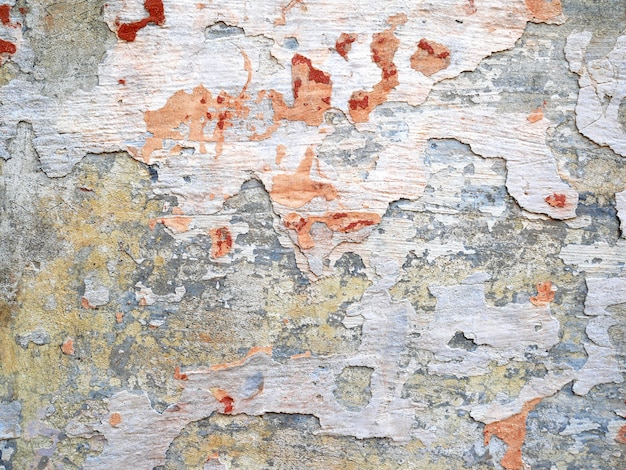 Aged background and texture the wall of the old building cement and old paint